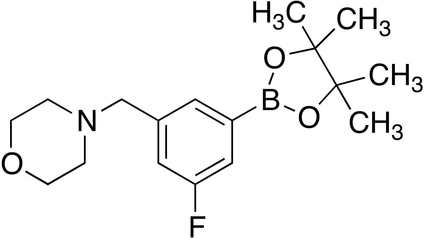 3-Fluoro-5-(4-morpholinylmethyl)benzeneboronic acid pinacol ester
