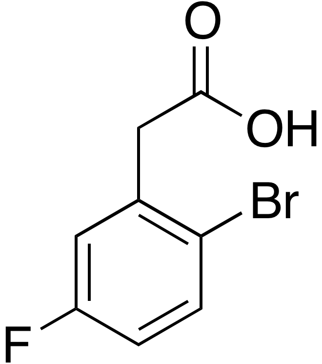 2-Bromo-5-fluorophenyl acetic acid