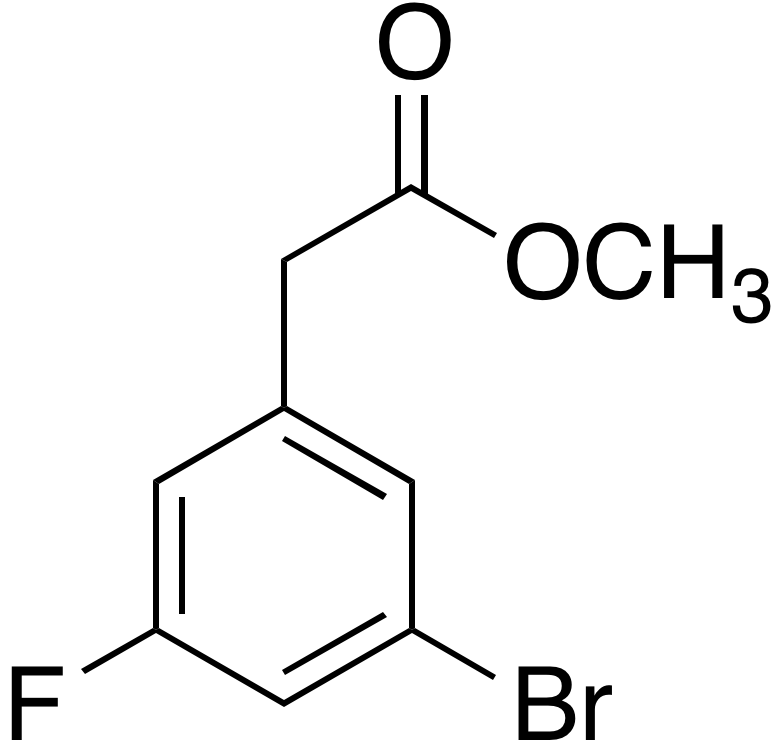 Methyl 3-bromo-5-fluorophenylacetate