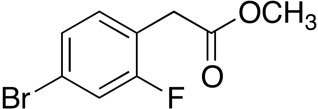 Methyl 4-bromo-2-fluorophenylacetate