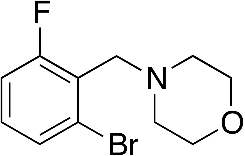 4-(2-Bromo-6-fluorobenzyl)morpholine