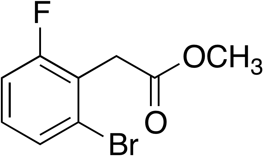 Methyl 2-bromo-6-fluorophenylacetate