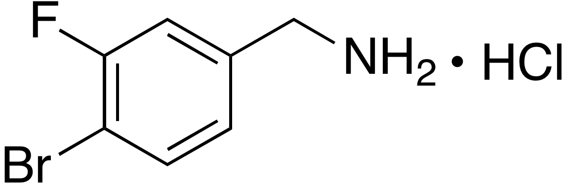 4-Bromo-3-fluorobenzylamine hydrochloride