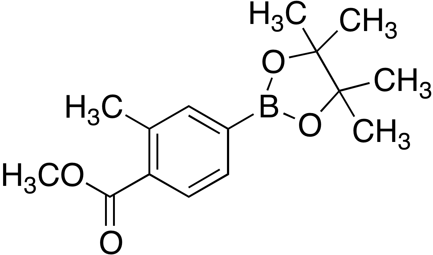 4-Methoxycarbonyl-3-methylbenzeneboronic acid pinacol ester