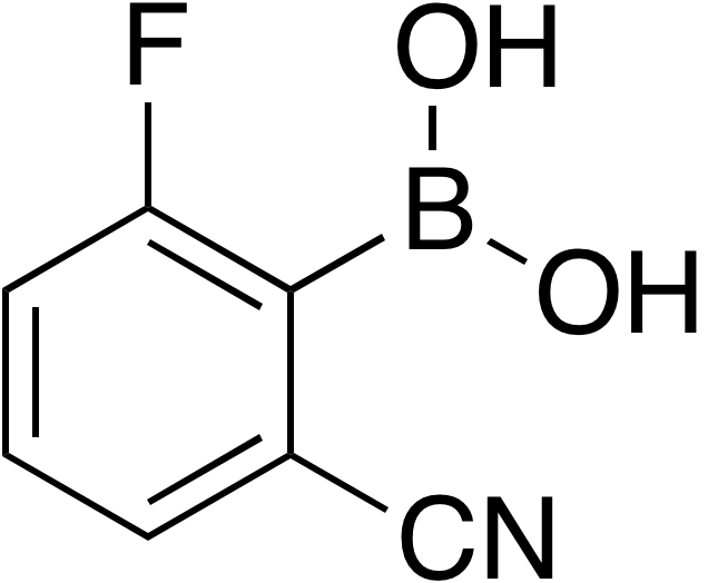 2-Cyano-6-fluorobenzeneboronic acid
