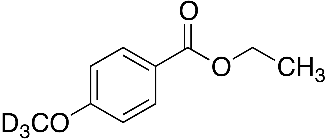 Ethyl 4-methoxy-d<sub>3</sub>-benzoate