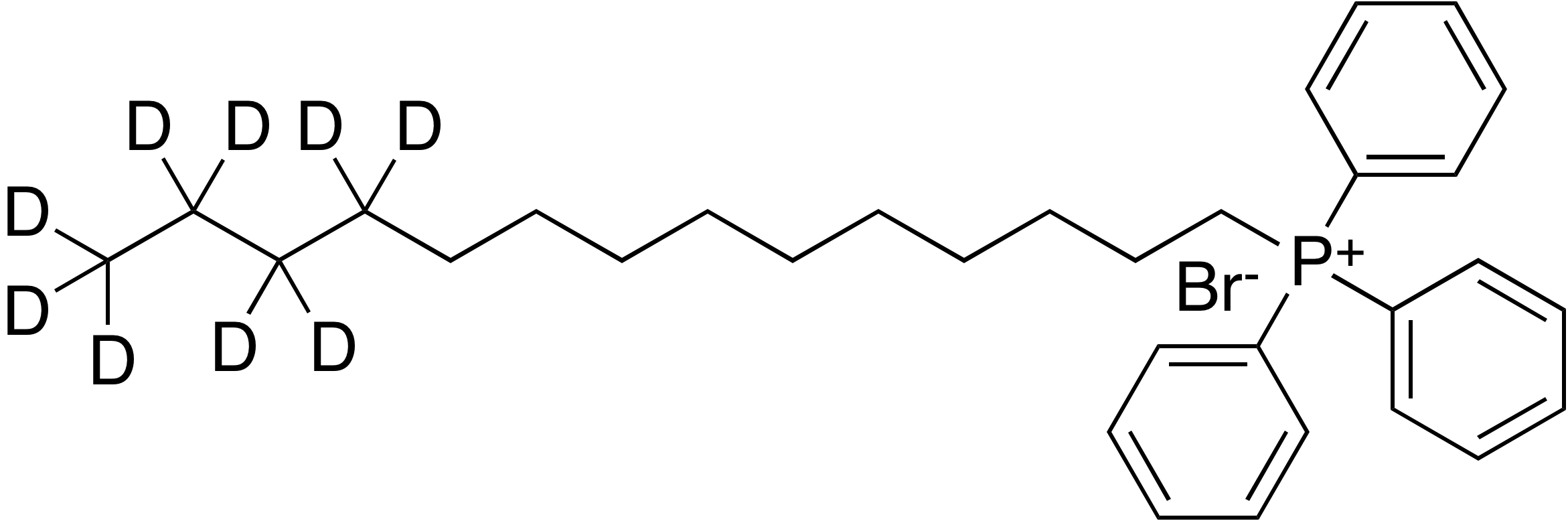 (1-Tetradecyl)-d<sub>9</sub> triphenylphosphonium bromide