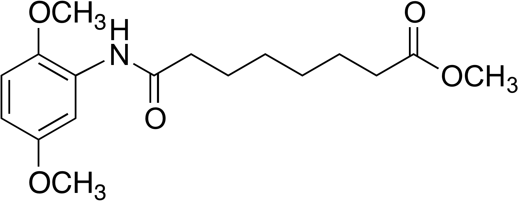 Methyl 8-(2,5-dimethoxyphenylamino)-8-oxooctanoate