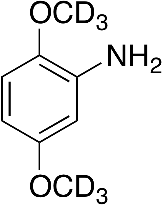 2,5-Dimethoxy-d<sub>6</sub>-aniline
