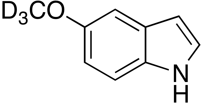 5-Methoxy-d<sub>3</sub>-indole