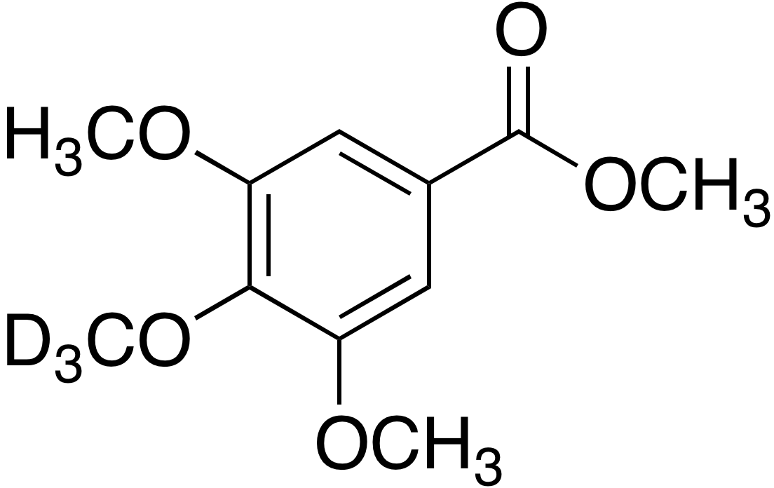 3,5-Dimethoxy-4-methoxy-d<sub>3</sub>-benzoic acid methyl ester