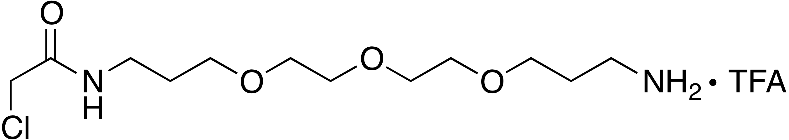 N-(3-(2-(2-(3-Aminopropoxy)ethoxy)ethoxy)propyl)-2-chloroacetamide trifluoroacetate