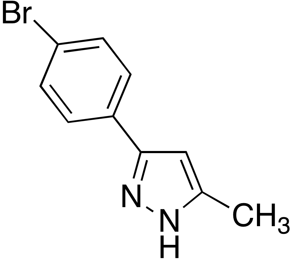 3-(4-Bromophenyl)-5-methyl-1H-pyrazole