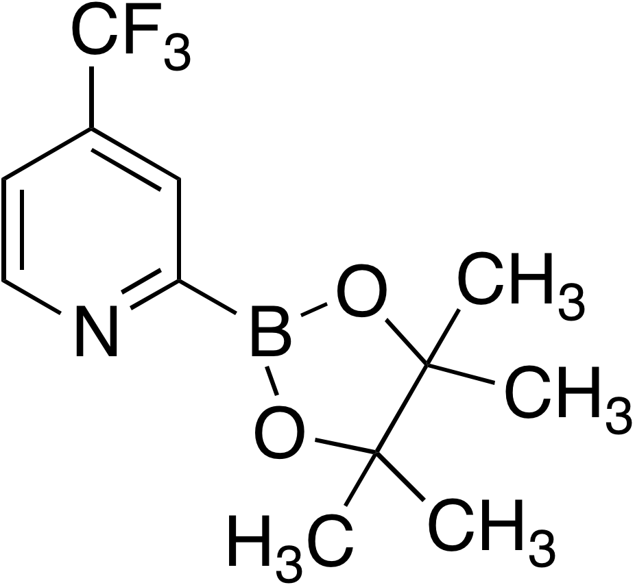 4-(Trifluoromethyl)pyridine-2-boronic acid pinacol ester
