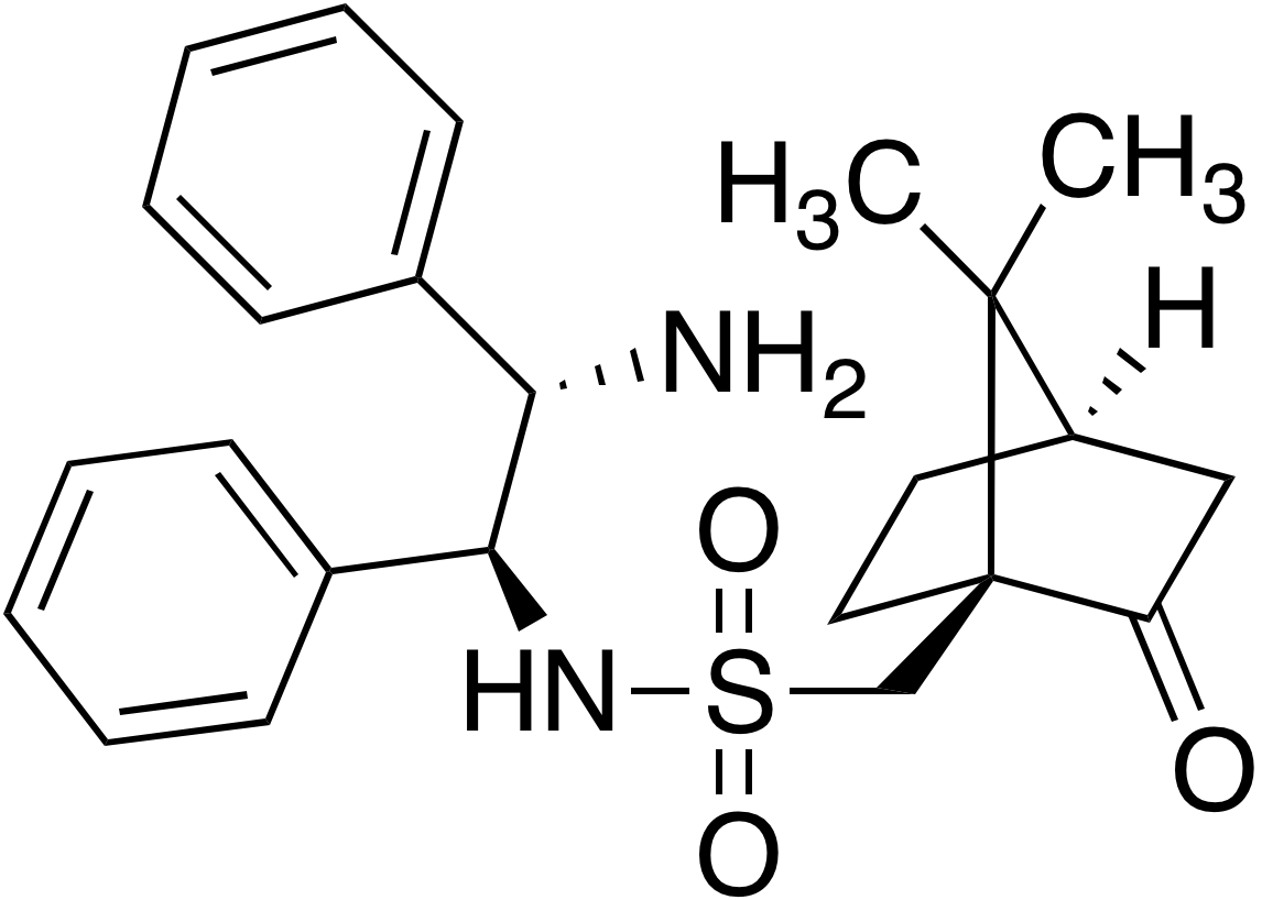 (S)-(+)-Camphorsulphonyl-(1S,2S)diphenylethanediamine