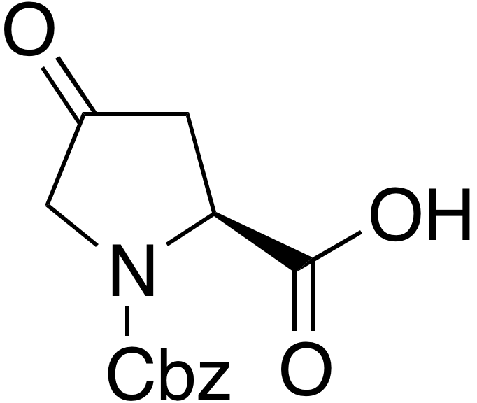 N-Carbobenzyloxy-4-keto-L-proline