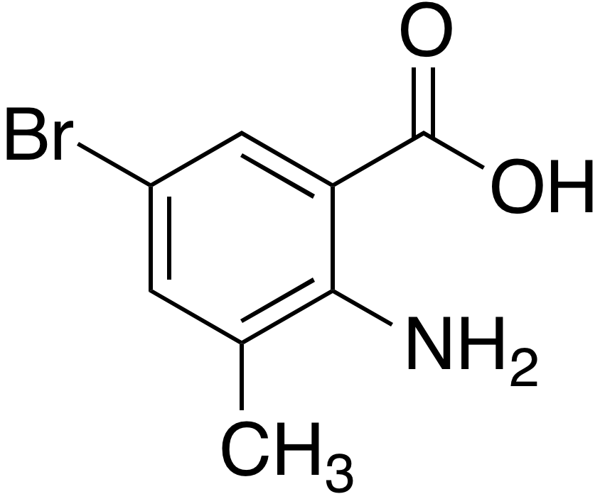 2-Amino-5-bromo-3-methylbenzoic acid