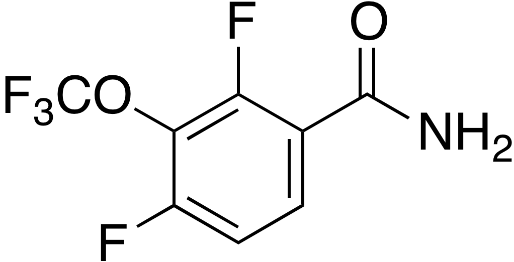 3-(Trifluoromethoxy)-2,4-difluorobenzamide