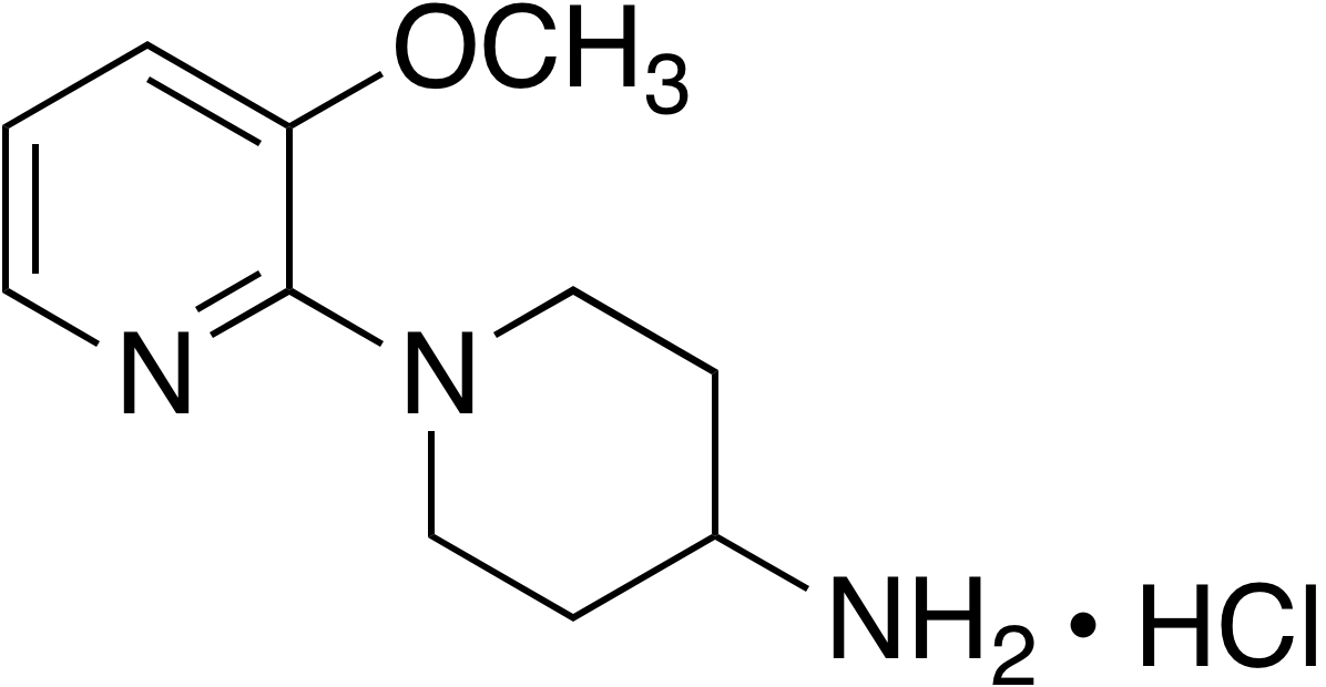 4-Amino-1-(3-methoxy-2-pyridyl)piperidine hydrochloride