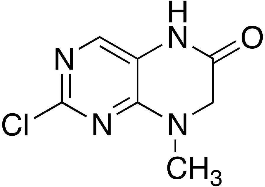 2-Chloro-8-methyl-7,8-dihydropteridin-6(5H)-one