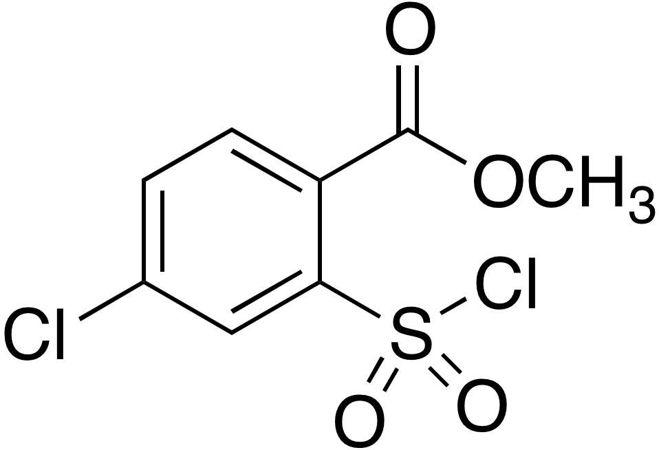 4-Chloro-2-(chlorosulfonyl)benzoic acid methyl ester
