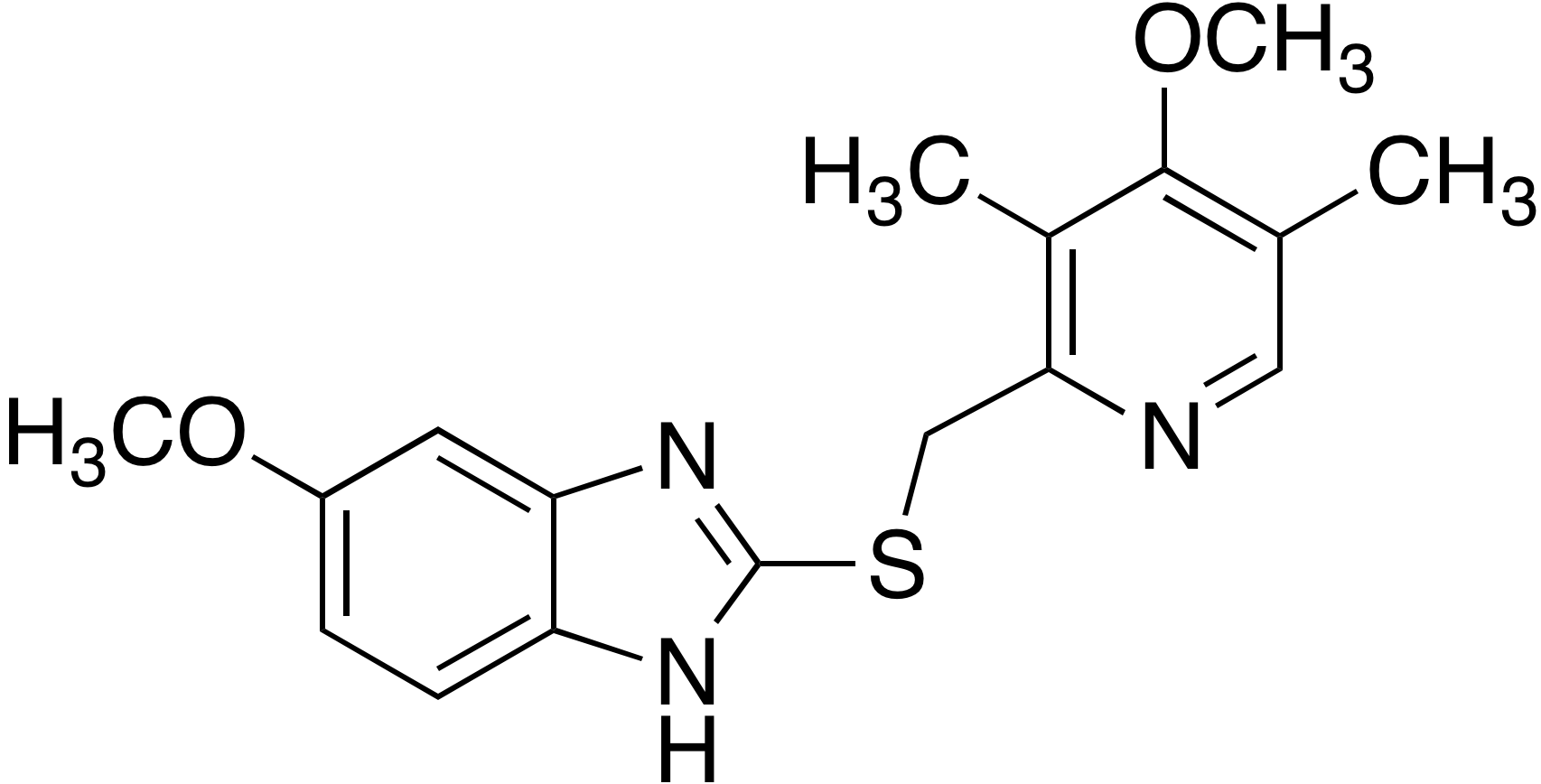 5-Methoxy-2-(((4-methoxy-3,5-dimethylpyridin-2-yl)methyl)thio)-1H-imidazo[4,5-b]pyridine
