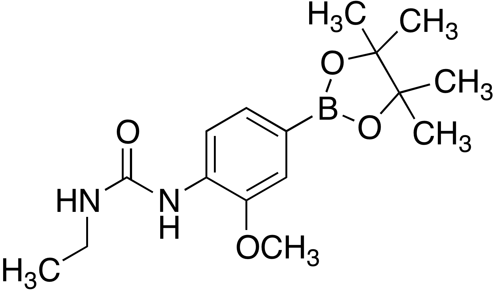 4-(3-Ethylureido)-3-methoxyphenylboronic acid pinacol ester