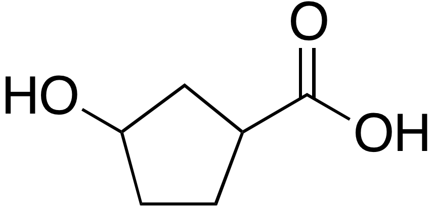 3-Hydroxycyclopentane carboxylic acid