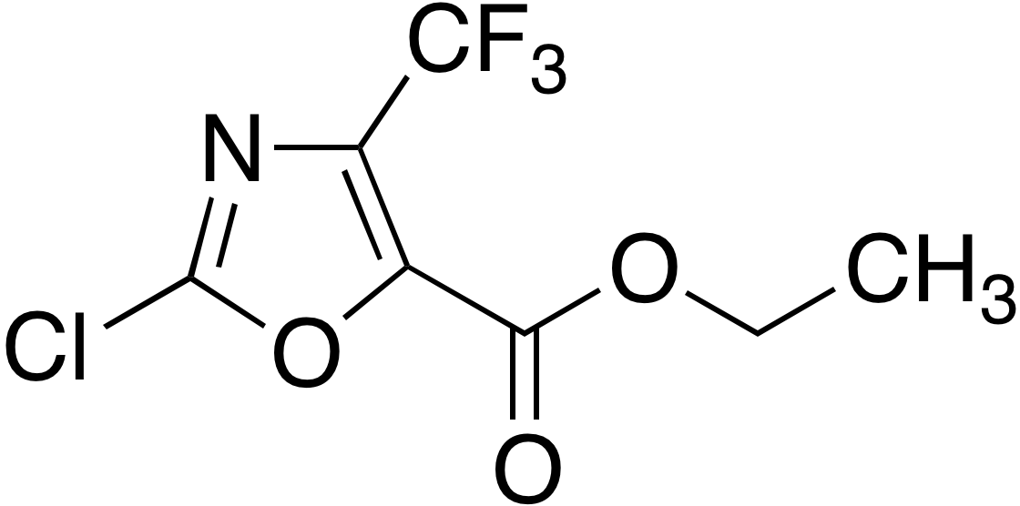 Ethyl 2-chloro-4-trifluoromethyloxazole-5-carboxylate