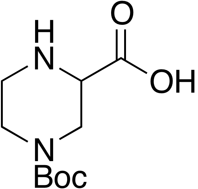 4-N-Boc-Piperazine-2-carboxylic acid