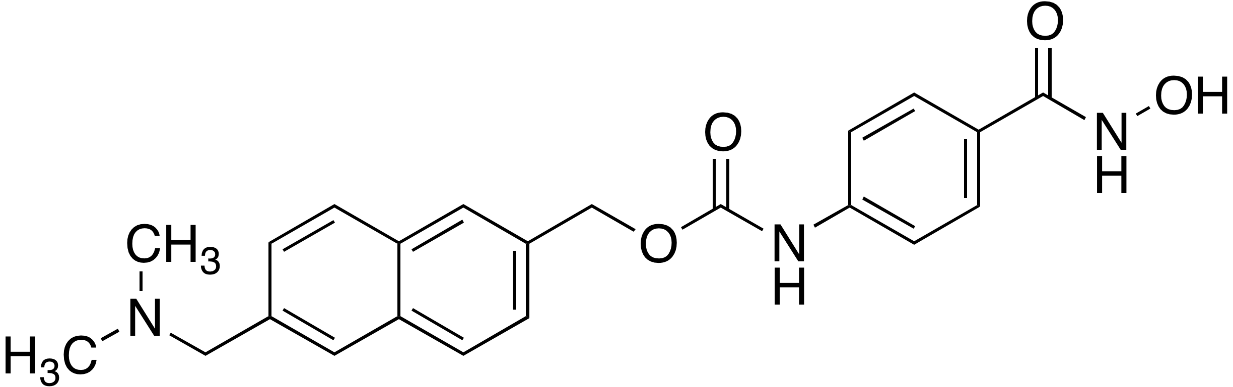 (6-((Dimethylamino)methyl)naphthalen-2-yl)methyl 4-(hydroxycarbamoyl)phenylcarbamate