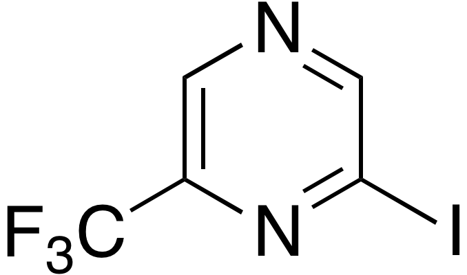 2-Iodo-6-(trifluoromethyl)pyrazine