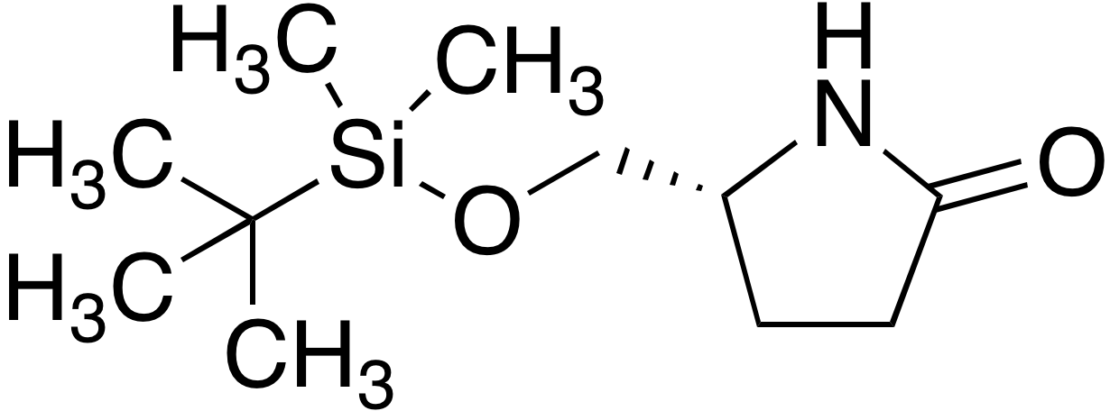 (R)-5-{(tert-Butyldimethylsilyloxy)methyl}pyrrolidin-2-one