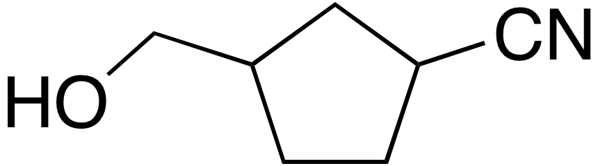 3-(Hydroxymethyl)cyclopentanecarbonitrile