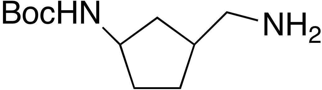 N-Boc-(3-Aminomethyl)cyclopentylamine