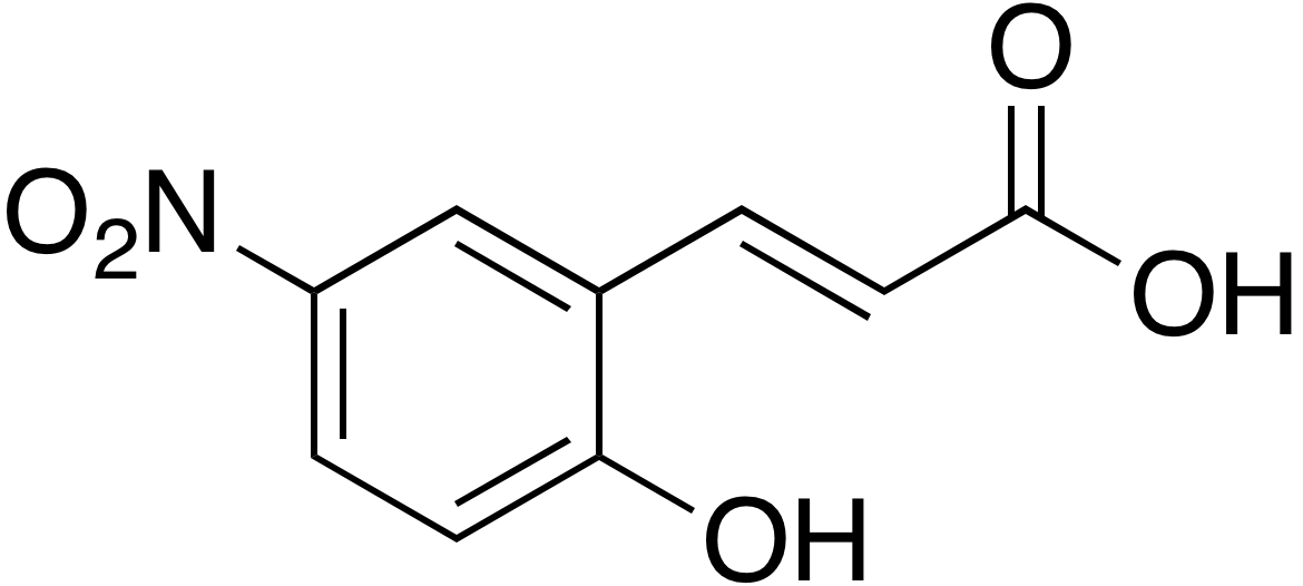 2-Hydroxy-5-nitrocinnamic acid