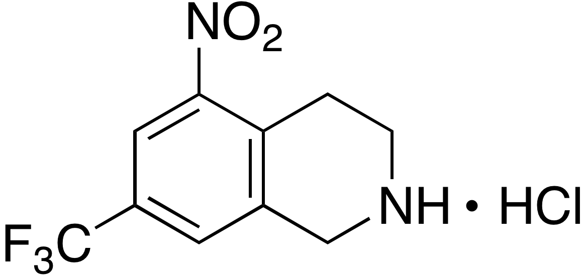 7-(Trifluoromethyl)-1,2,3,4-tetrahydro-5-nitroisoquinoline hydrochloride