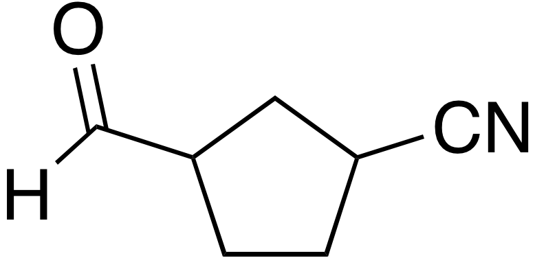 3-Formylcyclopentanecarbonitrile