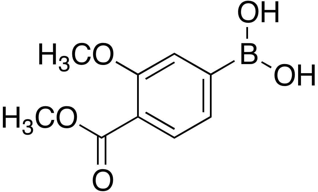 3-Methoxy-4-methoxycarbonylbenzeneboronic acid
