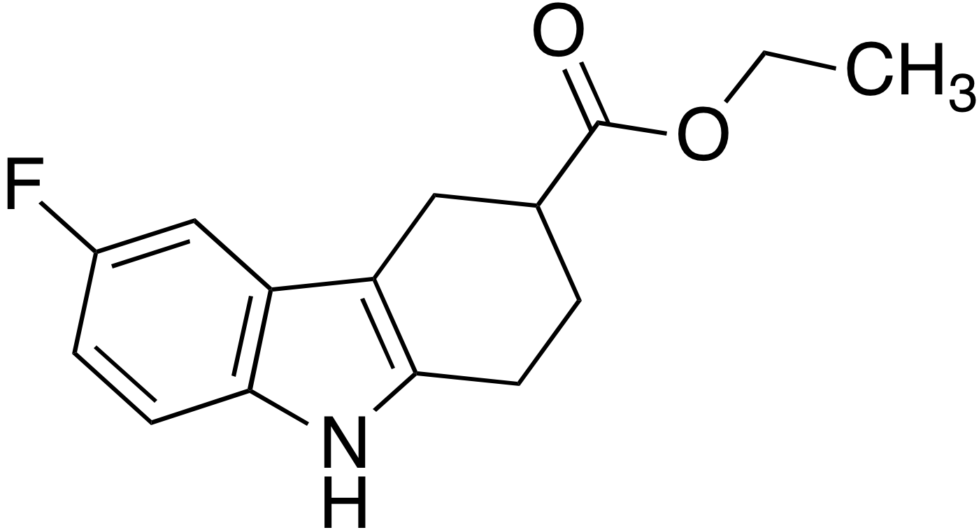 Ethyl 6-fluoro-2,3,4,9-tetrahydro-1H-carbazole-3-carboxylate