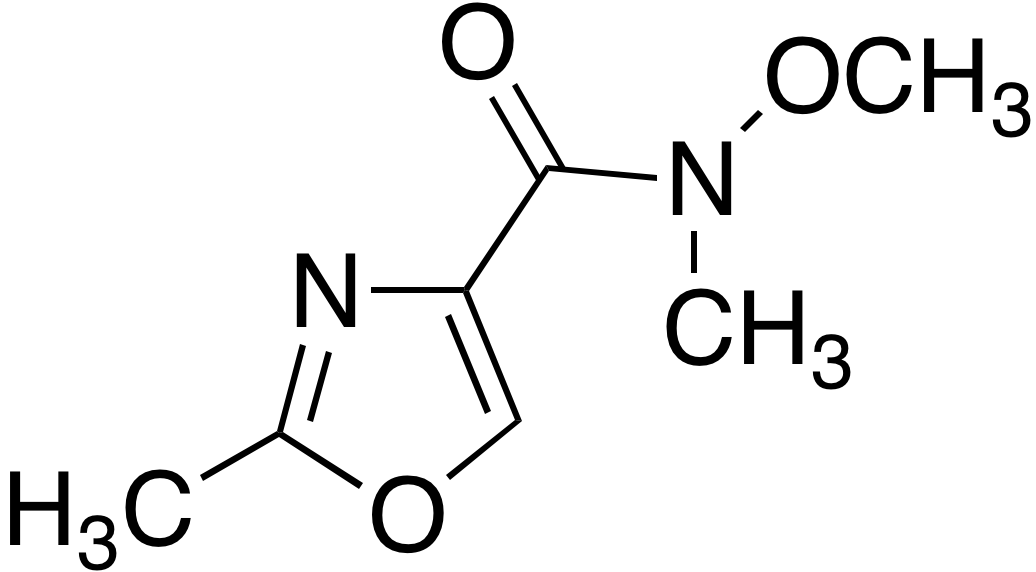 2-Methyloxazole-4-carboxylic acid methoxymethylamide