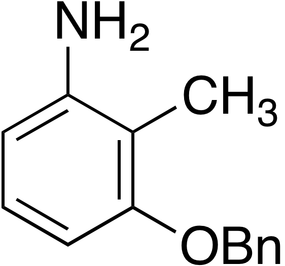 3-Benzyloxy-2-methylphenylamine