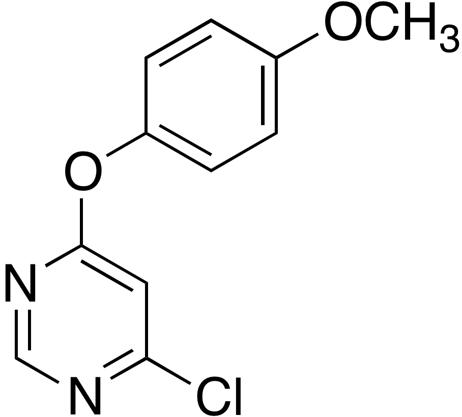 4-Chloro-6-(4-methoxyphenoxy)pyrimidine