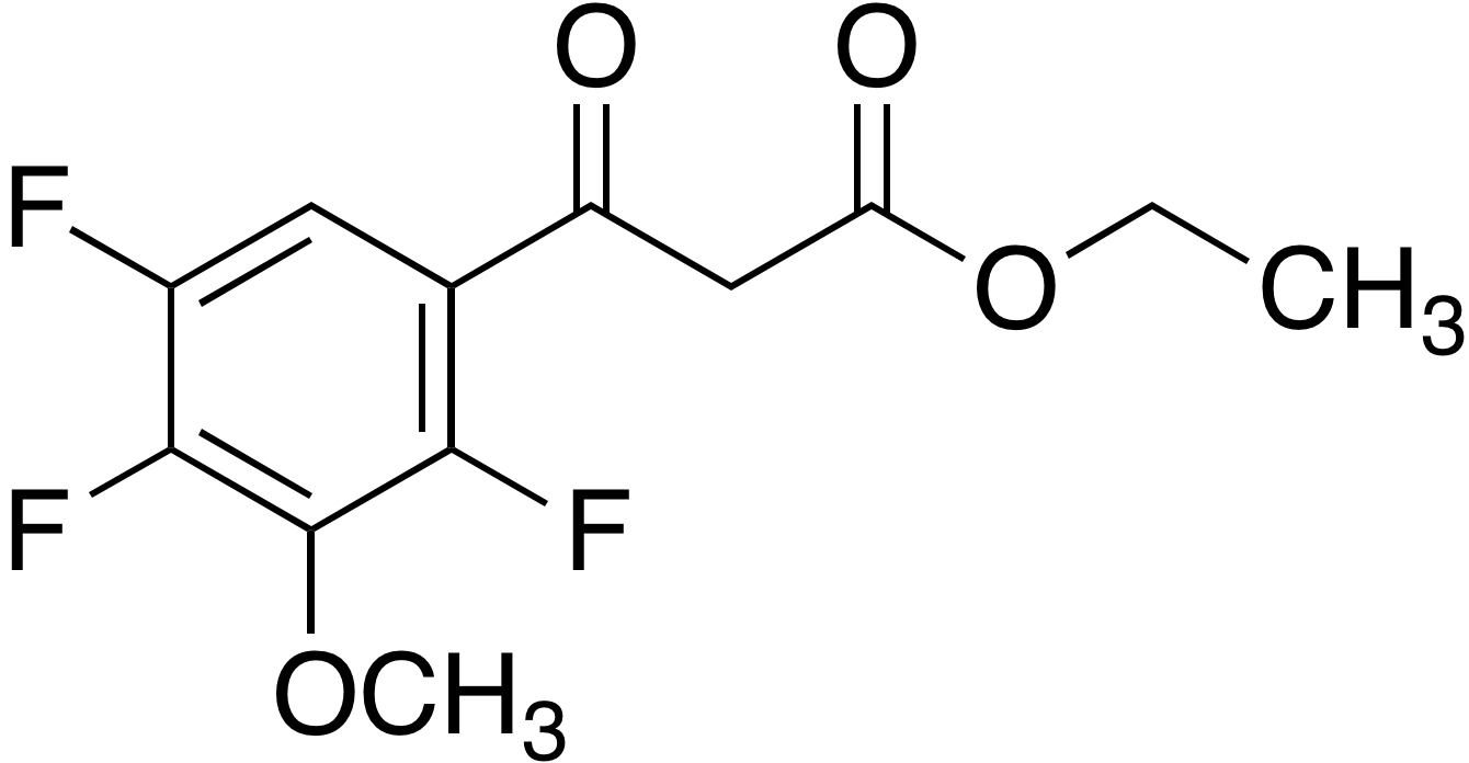 Ethyl 3-methoxy-2,4,5-trifluorobenzoylacetate