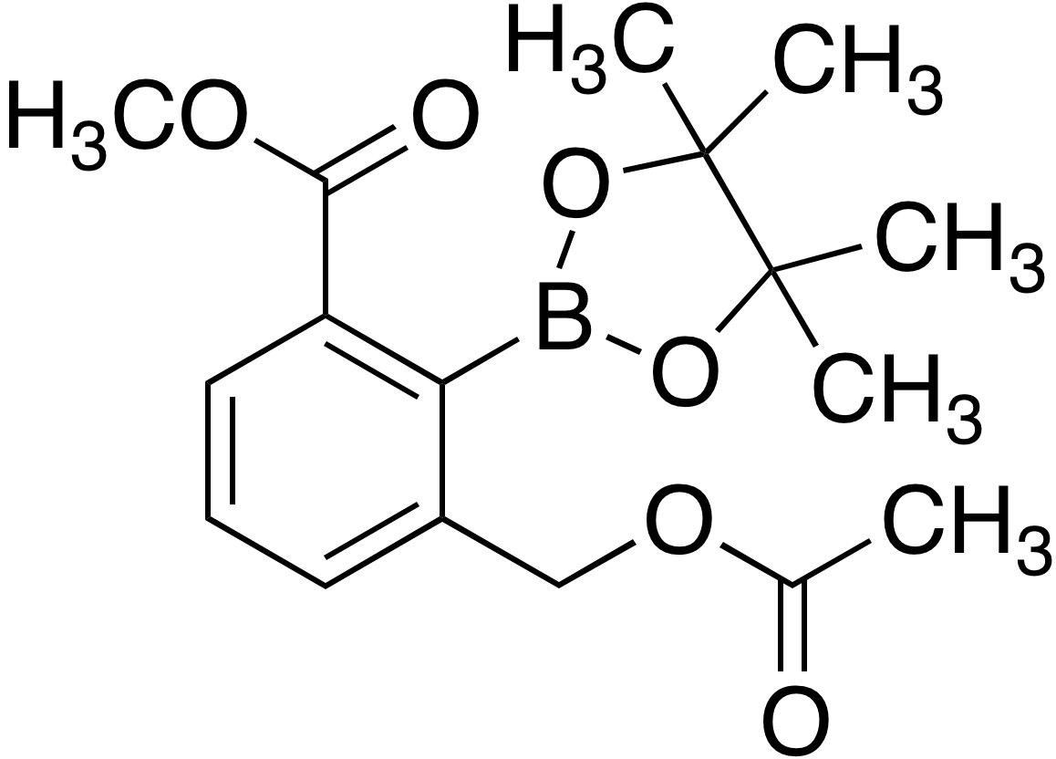 2-(Acetoxymethyl)-6-(methoxycarbonyl)benzeneboronic acid pinacol ester