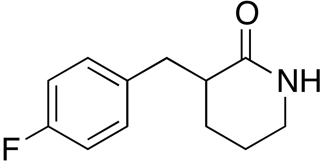 3-(4-Fluorobenzyl)piperidin-2-one