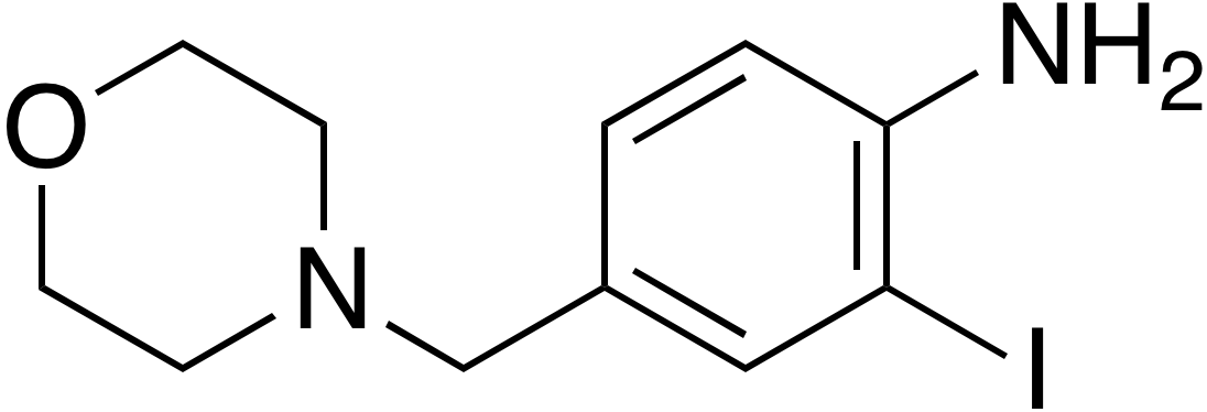 2-Iodo-4-morpholinomethylaniline