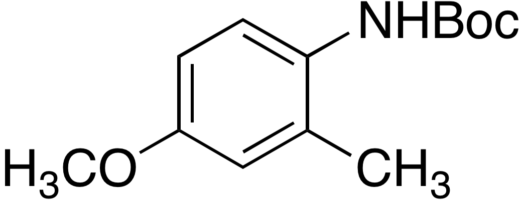 tert-Butyl 4-methoxy-2-methylphenylcarbamate