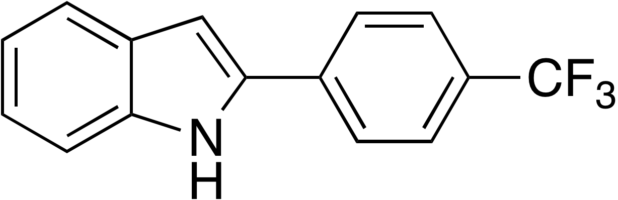 2-(4-Trifluoromethylphenyl)indole