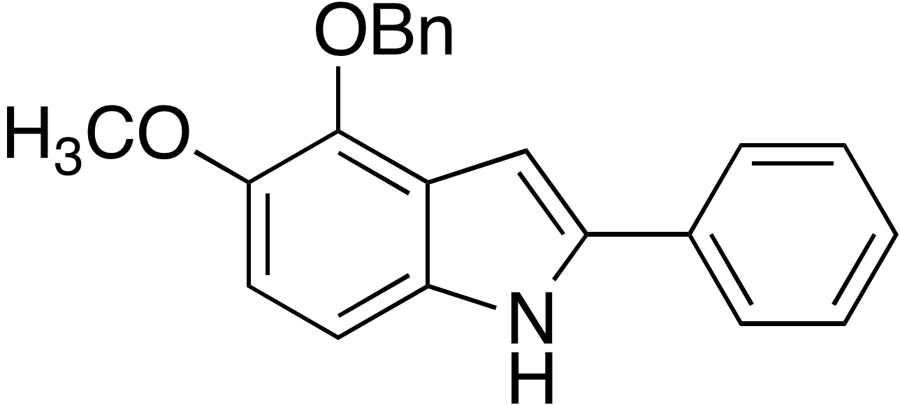 4-Benzyloxy-5-methoxy-2-phenylindole